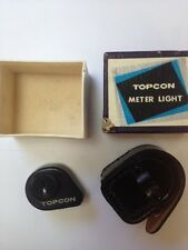 Vintage Topcon Meter Light and Case in Original Box - NEW