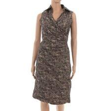 Knee Length Collar Sleeveless Dresses for Women