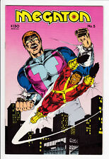 MEGATON #5 FN 1983 1st Rob Liefeld Work Rare HTF Comic