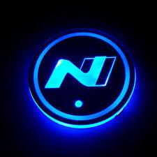1 X HYUNDAI N LINE N logo for all models Tucson Kona i30 cup holder set 7 color