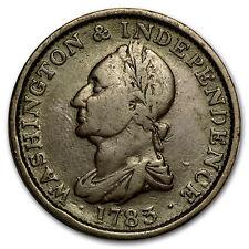 New listing 1783 Washington Large Draped Bust Copper Fine - Sku#94056