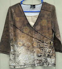 Jason Maxwell Embellished Top Size S Free Shipping in the USA