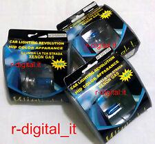 COPPIA LUCI LAMPADE AUTO H7 +40% BIANCA AZZURRO EFFETTO XENON BLU VISION 5500K