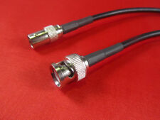 3' RFC-195  Antenna Coax Extantion Cable BNC Male to BNC Female.