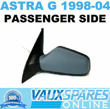 VAUXHALL ASTRA G NEW MANUAL PRIMED WING MIRROR PASSENGER NEAR SIDE HATCH & VAN