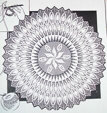 Reproduction SZ 8-18 7443 Vintage FLARED TOPPER Pattern to Crochet