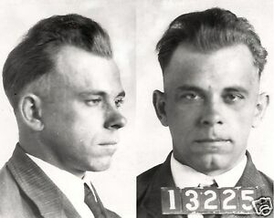 John Dillinger Famous Gangster Arrested Mugshot 8 x 10 Photo Picture gf3