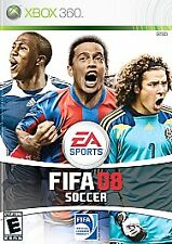 XBOX 360 Fifa Soccer 08 Video Game 2008 ea sports multiplayer co-op online fun