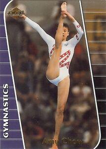 (12) AMY CHOW 2000 Edge GLOSSY Olympic Gymnastics LOT