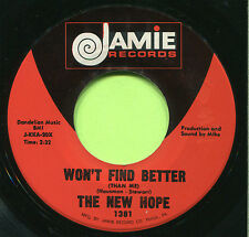NEW HOPE (Won't Find Better / They Call It Love)  ROCK 45 RPM  RECORD