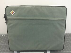 Vintage Apple IIc Carry Travel Bag Case w/ iconic rainbow logo
