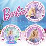 Personalizado Barbie Pegatinas Fiesta Cumpleaños Gracias Caramelo Conos Bolsas