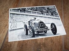Photo / Photograph  Louis Chiron BUGATTI 51 Grand Prix de Monaco 1932  //