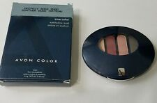 Avon True Color Eyeshadow Quad Deepest Rose Color New