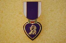 US USA Purple Heart Medal Military Hat Lapel Pin