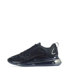 Nike Air Max 720 Triple Black Men's Trainers Shoes