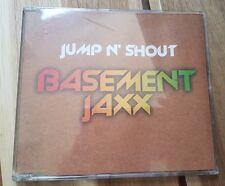 Basement Jaxx : Jump N Shout CD single Inc la photo and I beg u