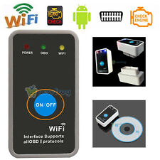 Mini ELM327 WiFi OBD2 OBDII WiFi Car Diagnostic Scanner Tool For iPhone Android