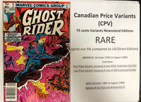 Ghost Rider (1982) # 76 (NM) Canadian Price Variant (CPV) !