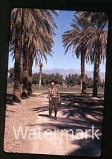 1972 Kodachrome photo slide Man with camera  two of them #2