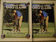 Gary McCord & Hal Sutton Signed Mercy Classic Programs