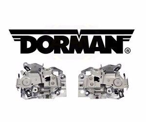 For Chevrolet GMC Door Latch Assembly Front Passenger R+L Dorman 940-103 940-102