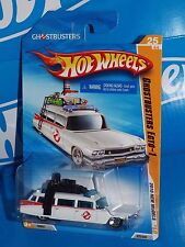 Hot Wheels 2010 New Models #25 Ghostbusters ECTO-1 White Cadillac