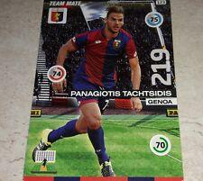 CARD ADRENALYN 2015/16 CALCIATORI PANINI GENOA TACHTSIDIS CALCIO FOOTBALL