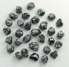Natural Loose Diamonds Rough Fancy Black I3 Clarity 1.70 to 2.10 MM 2.0 Ct Q90