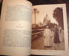 Une journée du pape, Georges Goyau, 1933, World FREE Shipping