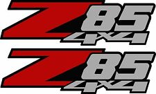 Set of (2) Z85 Multi-colored decals Truck Chevrolet Chevy 4x4 offroad