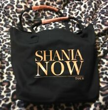 Shania Twain Now Tour VIP Exclusive Black Bag *NEW*  w/free gifts!