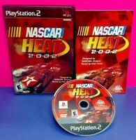 Nascar Heat 2002 Racing   - PS2 Playstation 2 COMPLETE Game 1 Owner Mint Disc