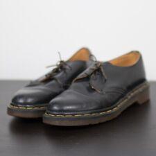 Vintage Dr Martens Leather Oxford Shoes 90s Retro Black Women Size 5.5 Vtg