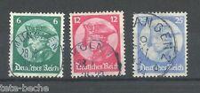 DEUTSCHES REICH 1933 classic Semi-Postal B398-340 set VF used $24.40