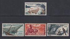 French Eq. Africa - SG 273/6 - f/u - 1953/5 - 50f - 500f