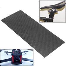 100% Carbon Fiber Plate Panel Sheet 3K Weave Glossy Plain Black 100mmX250mmX1mm