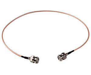 """Lanparte 60CM (24"""") BNC to BNC UHK Video HD SDI Coaxial Cable Transmission Cable"""