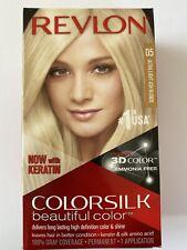 Revlon Colorsilk Hair Color 05 Ultra Light Ash Blonde Ammonia Free