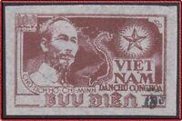 VIETNAM du Nord N°96H** ESG Surchage Noire, 1954-1956 North Vietnam 12 NGAI MNH