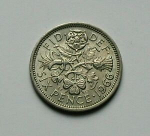 Great Britain 6 pence sixpence  1961 1962 1963 1964 1965 1966 1967 Wedding gift