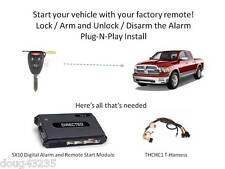 Plug-N-Play Alarm & Remote Starter for 2009-2012 Dodge RAM- 5X10-uses OEM Remote