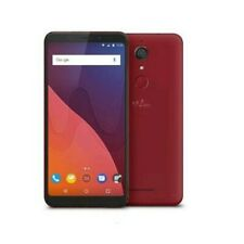 "✨WIKO VIEW DUAL SIM 5.7"" QUAD CORE 32GB RAM 3GB 4G LTE ITALIA CHERRY RED"
