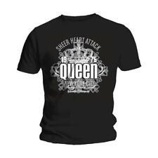 Queen 'Sheer Heart Attack' (Noir) T-Shirt