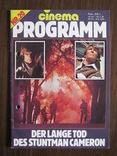 cinema Filmprogramm Nr.20  Der lange Tod des Stuntman Cameron   Peter O'Toole