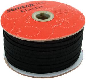 "Singer Notions Singer Stretchrite Braided Elastic .25""X100yd-Black, PSS14-B"