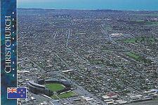 New Zealand -Jade Stadium, Christchurch RUGBY POSTCARD