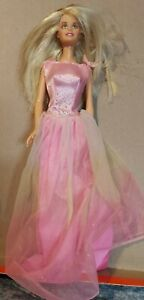 Barbie princess Style doll Dress Gown Party Hot Pink Mattel 2000's C100