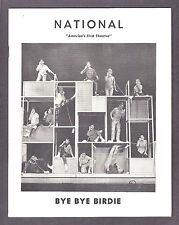 "Gretchen Wyler ""BYE BYE BIRDIE"" Kay Medford 1962 Washington, D.C. Playbill"