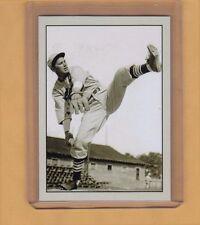 Dizzy Dean St Louis Cardinals signature photo card Plutograph serial number /200